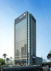建设银行办公楼模型3d模型