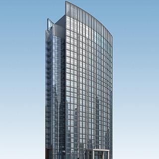 天润家具总部大厦3d模型
