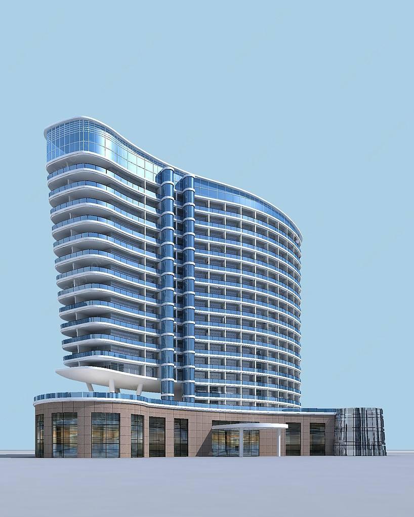 现代五星级酒店饭店