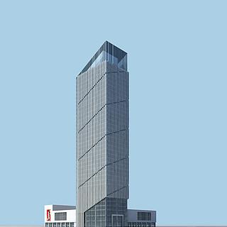 高层商务办公楼3d模型