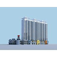 现代住宅3D模型3d模型