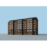 多层住宅3D模型3d模型