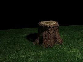 一个树桩模型