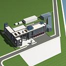 消防站模型