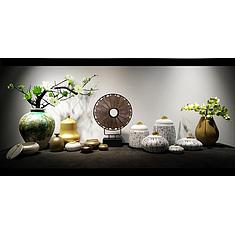 中式风格陶瓷花瓶摆件3D模型3d模型