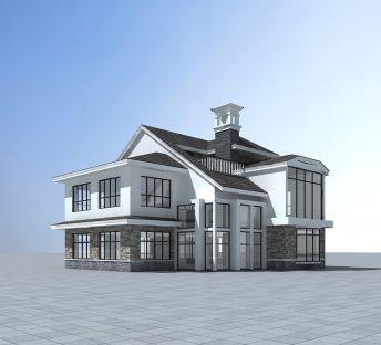 现代时尚别墅