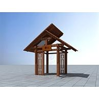 静心亭3D模型3d模型