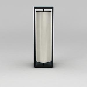 圆筒灯模型