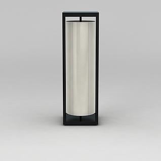 圆筒灯3d模型