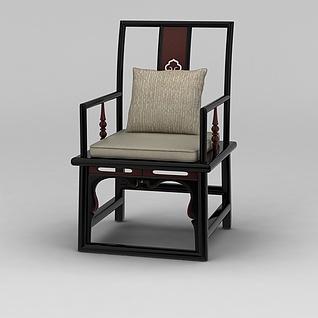 中式明清椅子3d模型3d模型