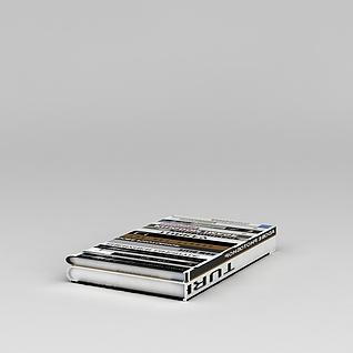 书籍杂志3d模型3d模型