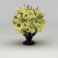 仿真花卉装饰品3D模型3d模型