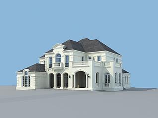 别墅k户型3d模型