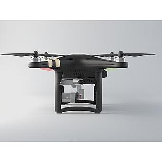 大疆无人机3d模型