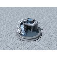 景观叠水3D模型3d模型