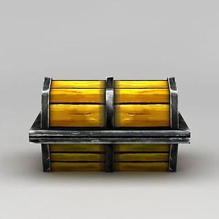 寻宝箱子3d模型