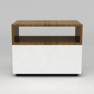 实木小边柜3d模型3d模型