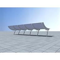 遮阳棚3D模型3d模型