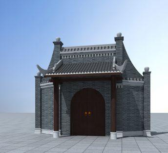 仿古中式门头