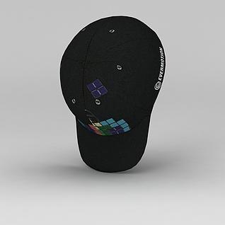 棒球帽3d模型