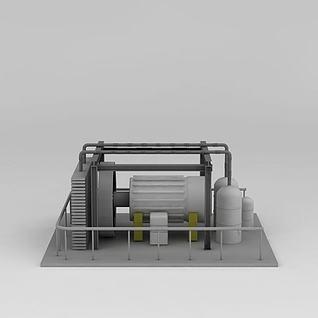 发电机3d模型