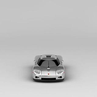 科尼赛克超级跑车3d模型