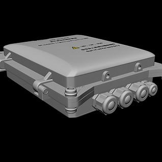 防雷箱3d模型