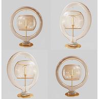 现代创意玻璃台灯3D模型3d模型