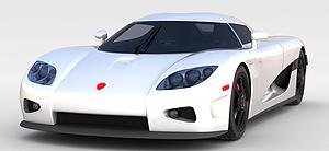 3d科尼賽克超級<font class='myIsRed'>跑車</font>模型