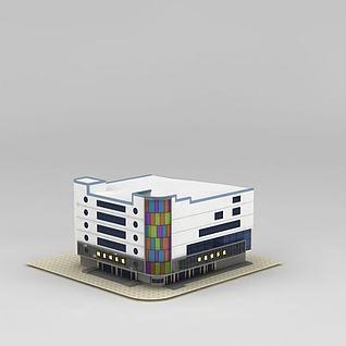 购物商场3d模型