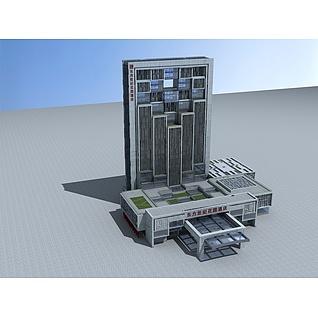 高级酒店3d模型