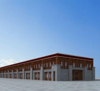 藏式商业楼