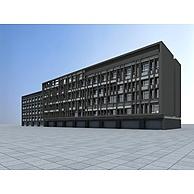 沿街住宅楼3D模型3d模型