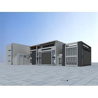 自建办公楼3d模型