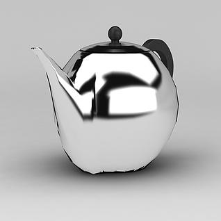 不锈钢茶水壶3d模型
