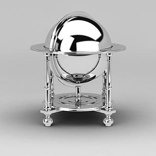 自助餐保温炉3d模型