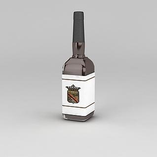 名酒3d模型