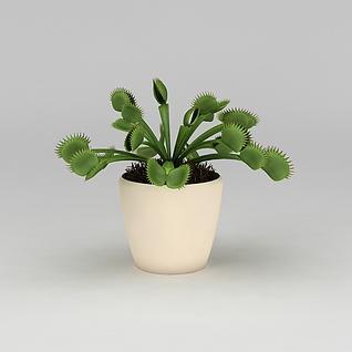 仿真绿植摆件3d模型