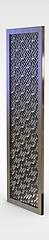 中式实木雕花隔断模型3d模型