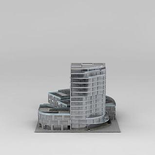 科技大楼3d模型