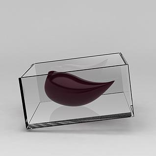 玻璃摆件3d模型