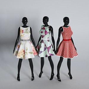 服装模特道具模型