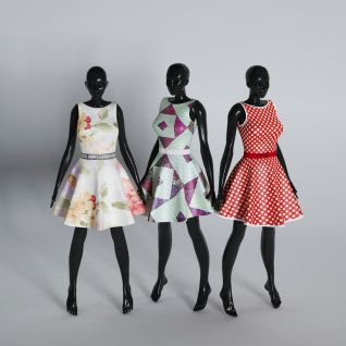 服装模特道具3d模型3d模型