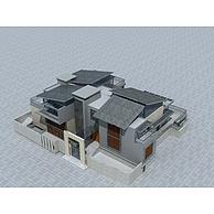 现代别墅3D模型3d模型