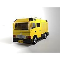工程抢险车3D模型3d模型