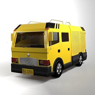 工程抢险<font class='myIsRed'>车</font>3d模型