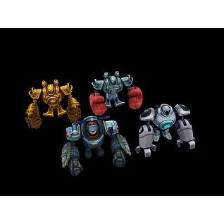 LOL机器人3d模型3d模型