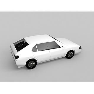 小汽车3d模型3d模型
