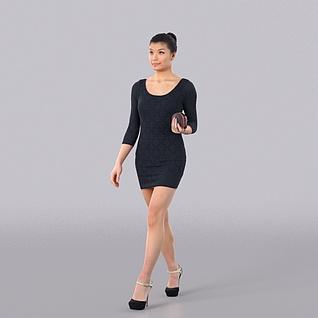 性感女人3d模型