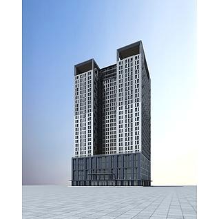 综合大楼3d模型